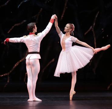 Балет «Кракатук». Принц— С.Кузьмин, Мари— Е.Березина